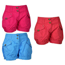 New Girls Summer Pants Shorts 100 % Cotton Age 2-16 Years