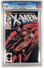 Uncanny X-men # 212 CGC  9.8 -  BWS Wolverine