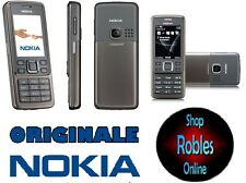 Nokia 6300i Grey (Senza SIM-lock) 3 nastro WLAN 2,0mp radio originale Nokia TOP