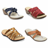 Spenco Womens Total Arch Support Orthotic Non-Slip Slide On Shoes Sandals