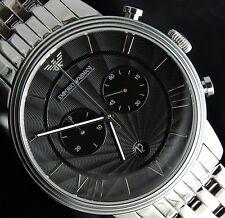 EMPORIO Armani uomo orologio cronografo ar1617-NUOVO CON CERTIFICATO