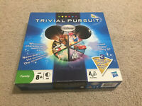Trivial Pursuit Disney For All Board Game Complete Hasbro 2010 Official Licensed