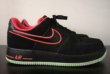 Mens Nike Air Force 1 Yeezy Black Low Trainers - UK 10