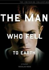 The Man Who Fell To Earth Criterion Collection 2 Disc DVD Set w/Book