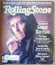 Rolling Stone Magazine - GEORGE HARRISON (October 22 1987)