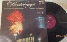 """12"""" LP Vinyl Staatskapelle Dresden,""""Ein Sylvesterkonzert"""" Amiga 845105 1974"""