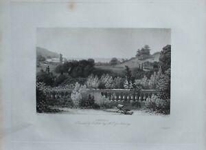 1835 Antik Sussex Aufdruck