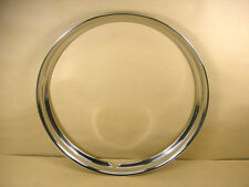 "1936 1948 Pontiac 16"" Concave Stainless Steel Trim Ring, C1279680R"