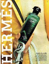 PUBLICITE ADVERTISING 0217  1981  eau de Cologne  Hermès