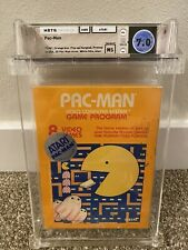 ATARI 2600 - 2D PAC-MAN - FACTORY SEALED - HANGTAB - WATA 7.0 NS - ATARI 1981
