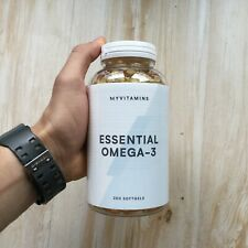 Myprotein  Essential Omega 3 250 Softgel EXP 10/2022