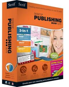 "Serif Desktop Publishing Suite ""BRAND NEW"""