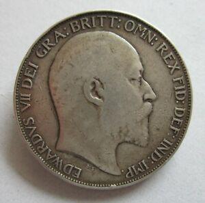 British Silver Crown Edward VII 1902