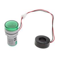 22mm AC 0-100A LED Digital Display Ammeter Current Meter Tester Indicator