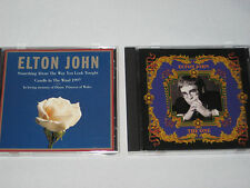 ELTON JOHN THE ONE & CANDLE IN THE WIND  2 CDs  13 SONGS  MINT CONDITION
