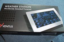 Funkwetterstation, Digitale weltweite Wetterstation von Ventus alles über W-Lan!