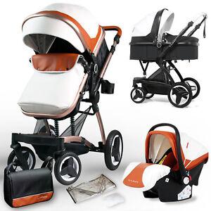 LUNY GX6 Kinderwagen 3in1 Kombikinderwagen Kinderwagenset Buggy Babyschale