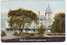Vintage White River Junction, VT Postcard - Junction House - Posted