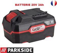 batterie  20V  capacité 3 Ah  série X20V TEAM Parkside
