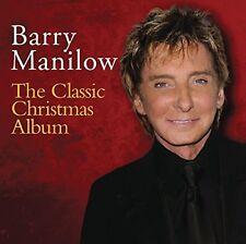 BARRY MANILOW CLASSIC CHRISTMAS ALBUM Original Audio CD Brand New UK Release