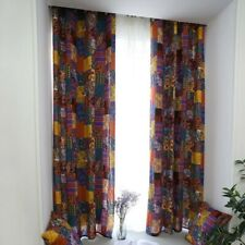 1PC Curtain Bohemian Style Window Drapes Retro Ethnic Home Hotel Decorations