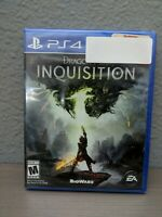 Dragon Age: Inquisition PS4 [Brand New] Factory Sealed Sony Playstation 4 GAME