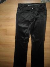 VTG STYLE NEW WOMENS 5 28 X 33 BONGO BLACK DISCO SPANDEX STRETCH PANTS JEANS