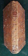 Tarn : Manuel à l'usage du diocèse de LAVAUR (Toulouse, Pijon, 1788).