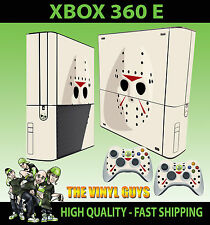 Xbox 360 E Jason Voorhees Maske CLEAN Skin & 2 Controller Polster Hülle