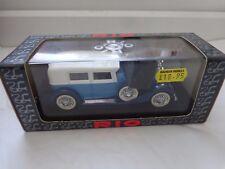 RIO 1/43 - REF 65 - HISPANO SUIZA V-12 LIMOUSINE 1932 - DIECAST MODEL CAR IN BOX