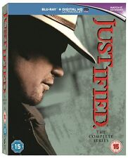 JUSTIFIED Complete Season Series 1 2 3 4 5 & 6 1-6 Collection Boxset NEW BLU-RAY