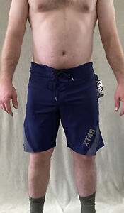 Soffe Extreme Training XT46 Men's 34 (M) Navy Blue Gray Utility Board Shorts NWT
