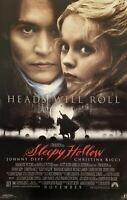 Sleepy Hollow Movie Reproduction Promo Poster 22 X 34