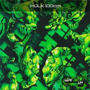 ROLLED - HULK - Hydrographics Film Hydro Dipping Transfer Graphic Dip UK
