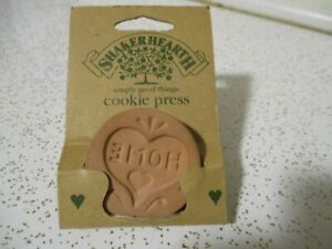 """Shakerhearth 2"""" Round Cookie Stamp with Handle - HOME"""
