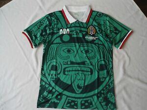 MEXICO 98 FOOTBALL SHIRT SIZE MED