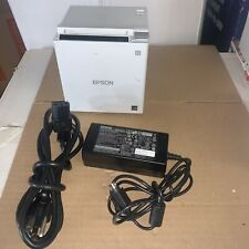 Epson Tm M30ii Thermal Pos Printer Usb Lan Auto Cutter Ps White Pn C31cj27021