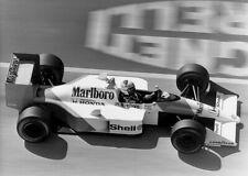 Alain Prost. McLaren MP4/4. Vintage Marlboro promo photo M369