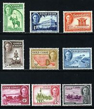 GOLD COAST King George VI 1948 Pictorial Part Set SG 135 to SG 145 MINT