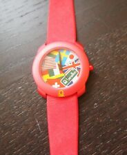 United Colors Of Benetton Watch by Bulova 1990s Red / International VTG New