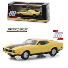 """Ford Mustang Mach 1 Eleanor (1973) """"Gone in 60 seconds"""" (1973) Greenlight 1/43"""