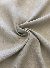 Premium Linen Flax Fabric BY THE YARD