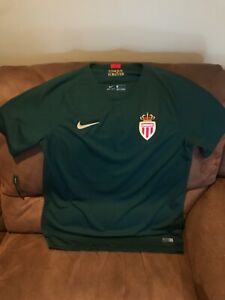 NIKE AS Monaco FC 2018/2019 Away Jersey New  Size Large Mens