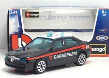 ★burago Collezione Security Team Scala 1 43 ALFA ROMEO 156 Carabinieri Cc★