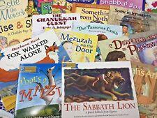 MIXED LOT of 15 Jewish Children's books RANDOM titles books SHIPS FREE