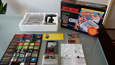 Super Nintendo console boxed Street fighter 2 ed., all manuals, good condition