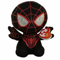 TY Beanie Baby MILES MORALES (Spider-Man) (Marvel) Plush Stuffed Animal MWMTs
