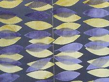 Sanderson Cortina/Tela Para Tapizar 'Miro' 3.7 METROS Figura/Amarillo Corte