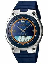 Casio Men's Core AW82-2AV Blue Resin Quartz Sport Watch