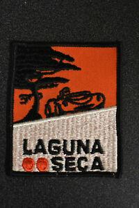Vintage Laguna Seca Road And Motorcycle Racing Patch